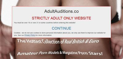 Adult Auditions