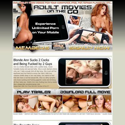 Adult Movies on The Go