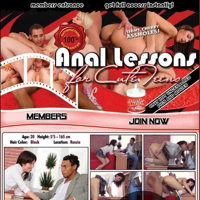 Anal Lessons for Cute Teens