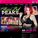 Anna Bell Peaks XXX User And Pass to Paysites