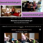 Bound Ticklish Girl Username and Password