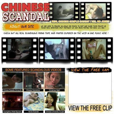 Chinese Scandals