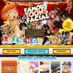 Famous Toons Facial Free Porn Access