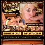Granny Fucks User And Pass to Paysites