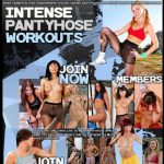 Intense pantyhose workouts Premium Porn Passwords