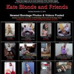 Kate Blonde And Friends Free Passwords