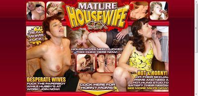Mature Housewife Sex