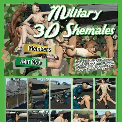 Military  3D  Shemales