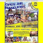 Open Air Handjobs Free Premium Porn Accounts