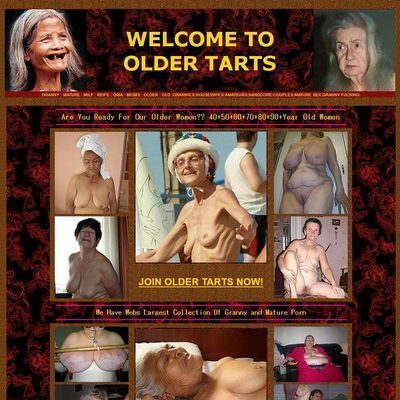 Welcome to Older Tarts