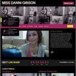 MissDanniGibson User And Pass to Paysites