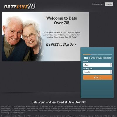 DateOver70 High Quality Premium Account