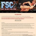Foot Slave College Free Porn Passwords