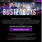 Busted Boys Premium Passwords Porn Sites