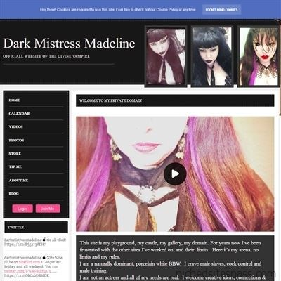 Dark Mistress Madeline