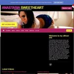 Anastasia Sweetheart Free Premium Porn Accounts