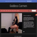 Goddess Carmen Perfect Password Porn Free